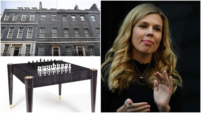Carrie Symonds was said to have 'exquisite taste' in home decorations - so maybe she'd like these for the Downing Street flat (Getty Images/LuxDeco)