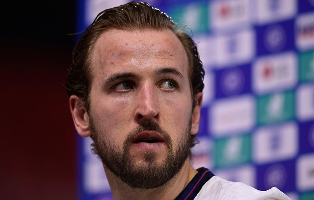 Harry Kane will be vying to become the tournament's top scorer should England qualify for the 2022 World Cup after winning the golden boot award at Russia 2018. (Pic: Getty)