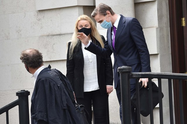 Dr Christian Jessen appears at Belfast High Court on Friday. (Pic Colm Lenaghan/Pacemaker Press)