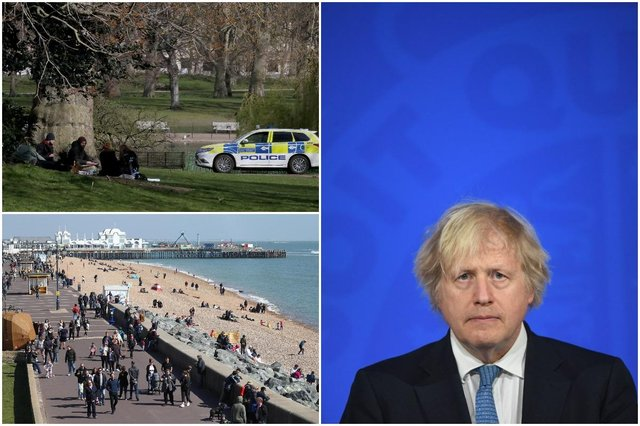 Boris Johnson has vowed to stick to the easing lockdown plan in England despite scientists warning of another wave