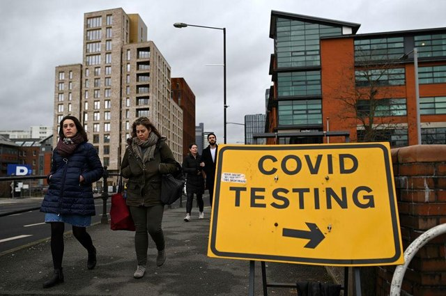 Covid-19 cases in England in creased by 6.1 per cent per 100,000 people in the week to 20 May