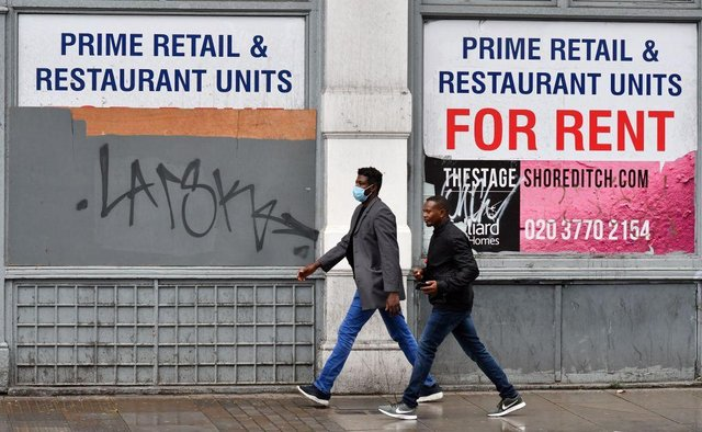 Young workers have been affected by job losses because they disproportionately work in sectors that have been hit hardest by the pandemic, like hospitality and leisure (Photo: JUSTIN TALLIS/AFP via Getty Images)