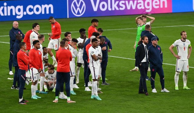 England's Euro 2020 squad. (Photo by Facundo Arrizabalaga - Pool/Getty Images)