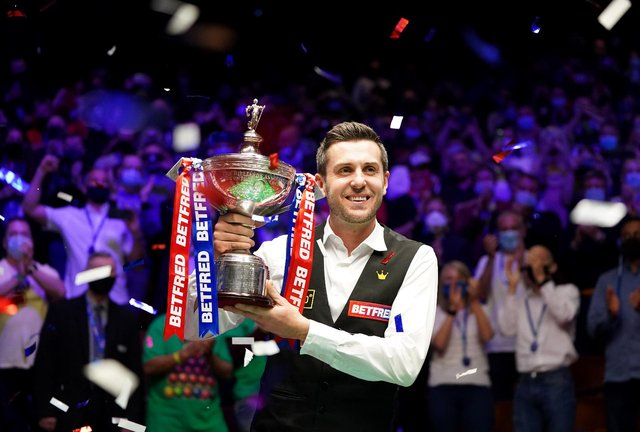 Mark Selby wins the 2021 Betfred World Championship (PA Media)
