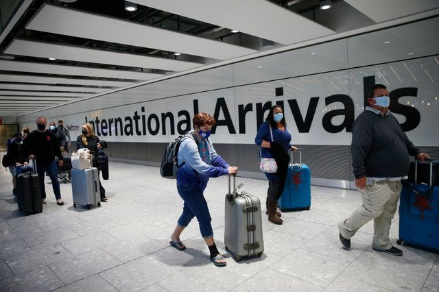 Travellers returning to the UK from abroad will be expected to have pre-departure Covid tests (Photo: Getty Images)