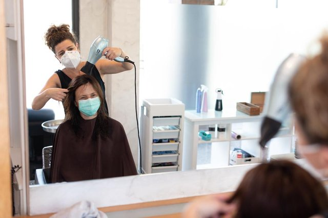 Hairdressers and barbers across the UK will reopen at different dates (Photo: Shutterstock)