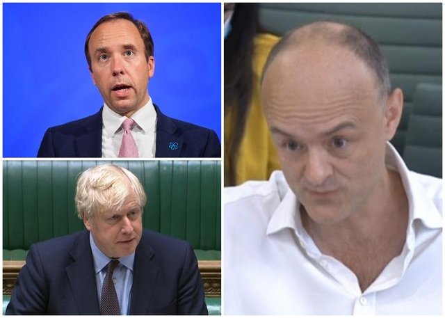 The Prime Minister's former chief adviser said Health Secretary Matt Hancock should have been fired over coronavirus failings (PA)