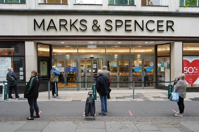 """M&S is targeting 30 more closures in the """"next phase"""" of its transformation plan (Photo: Getty Images)"""