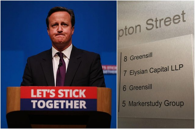 David Cameron is facing questions over his lobbying on behalf of Greensill Capital (Photos: Getty)