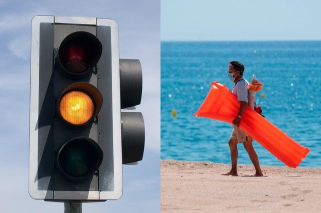 Holidaymakers have been advised to avoid booking travel to amber countries (Getty Images/Shutterstock)