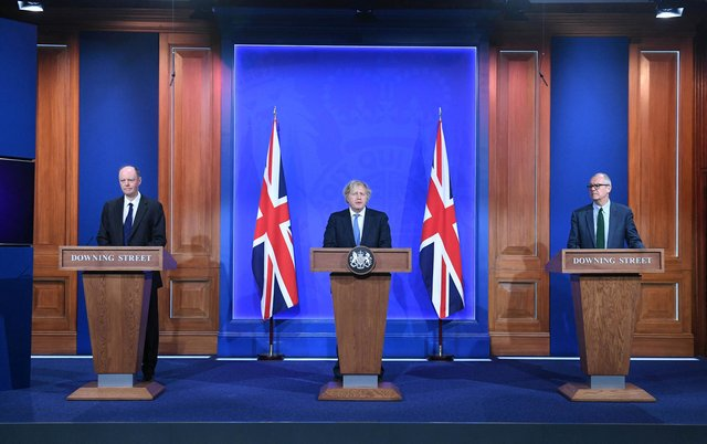 Prime minister Boris Johnson will address the nation with the latest news on what to expect from May 17 (Stefan Rousseau/POOL/AFP via Getty Images)