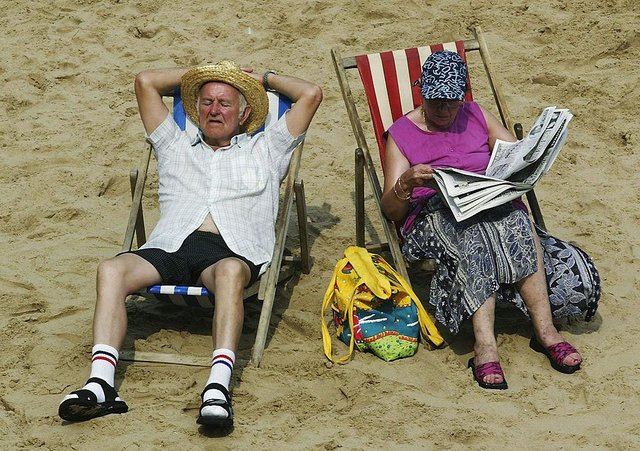 Brits could look forward to glorious weather throughout June, as the dreary days of May are left behind (Picture: Getty Images)