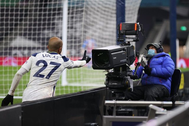 Sky Sports, BT Sport, Amazon Prime Video and BBC Sport will continue to show live games and highlightsfrom English football's top flight. (Pic: Getty)