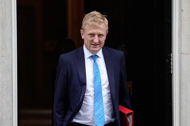 """Oliver Dowden promised a """"robust response"""" to ESL plans and floated the possibility of further action being taken against the 'big six' from the Premier League in his Commons address. (Pic: Getty Images)"""