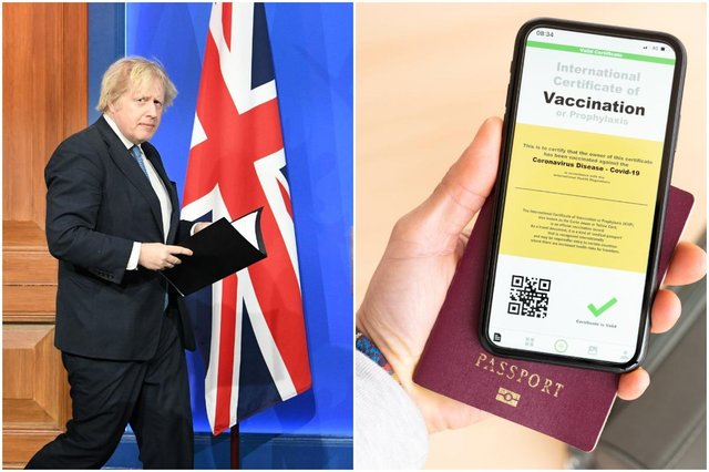 """The introduction of vaccine passports in the UK could create a """"two-tier"""" society, a Tory MP has warned."""