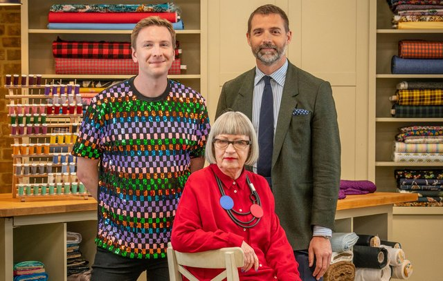 The Great British Sewing Bee is filmed at Trinity Buoy Wharf in London (BBC)
