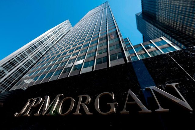JP Morgan is one of America's 'Big Four' banks, andis considered a systemically important bank by the Financial Stability Board (Photo: JOHANNES EISELE/AFP via Getty Images)