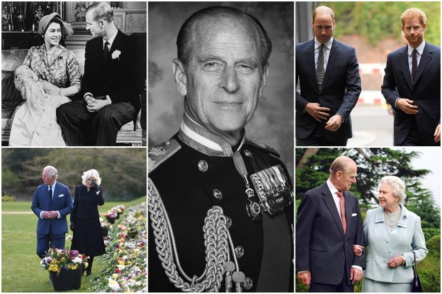 William and Harry will not walk shoulder to shoulder at the Duke of Edinburgh's funeral (Getty Images)