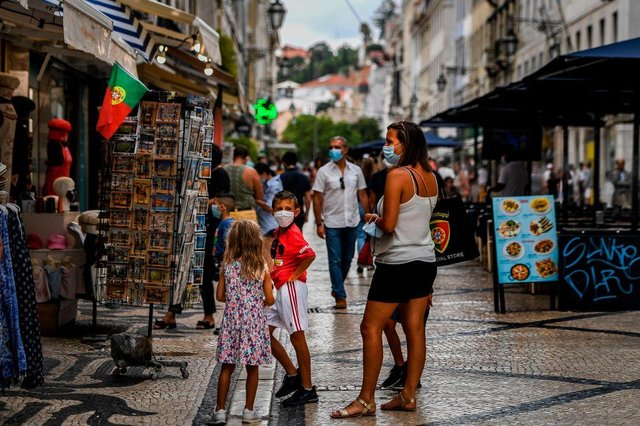 The Portuguese Government stated that ministers have approved a move to continue the current level of lockdown (Photo: PATRICIA DE MELO MOREIRA/AFP via Getty Images)