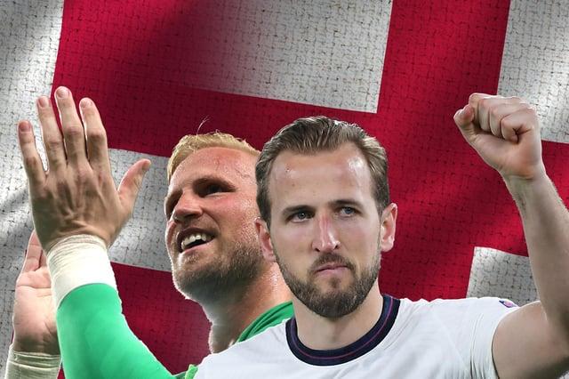 England take on Denmark at Euro 2020.