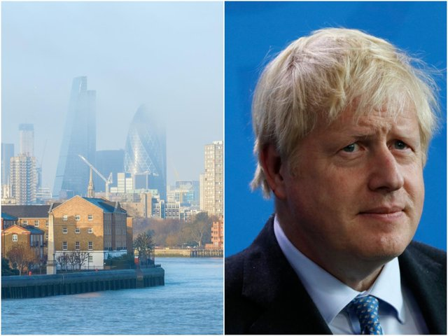 Prime Minister Boris Johnson has been urged to put tougher legal pollution targets into place after the death of a schoolgirl who was exposed to toxic air (Photo: Shutterstock)