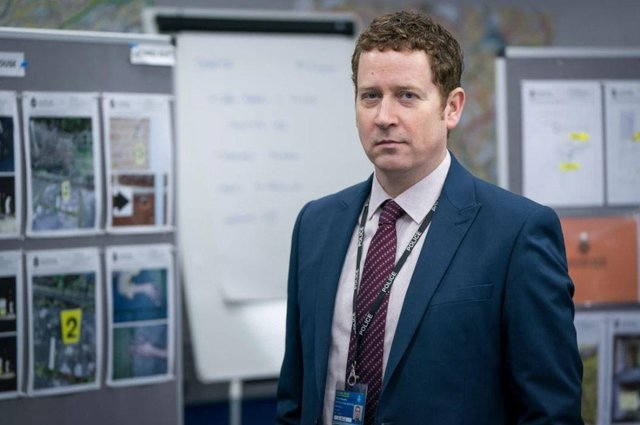 DCI Ian Buckells was revealed as the arch villain H in the series finale (Photo: BBC)