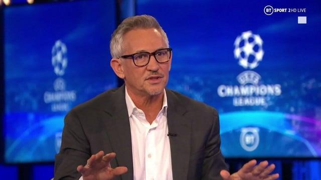 Gary Lineker is stepping down as the presenter of Champions League football on BT Sport (BT Sport)