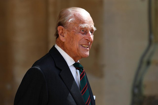 It has been announced by Buckingham Palace that Prince Philip, the Duke of Edinburgh, has died aged 99 (Getty).