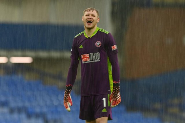 Sheffield United's goalkeeper Aaron Ramsdale has been called into the England squad.