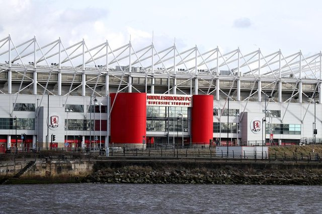 Middlesbrough's Riverside Stadium will host two England internationals in June.