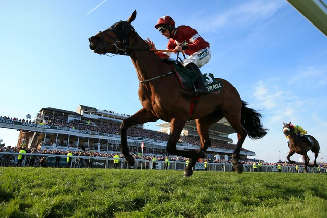 Tiger Roll became the first horse since Red Rum in the 1970s to win back-to-back Grand Nationals when striking gold in 2018 and 2019. (Pic: PA)