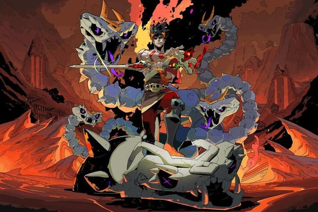 Indie darling Hades was the big winner at this year's Bafta Games Awards, honouring the best in the world of video games from the past 12 months (Image: Supergiant Games)