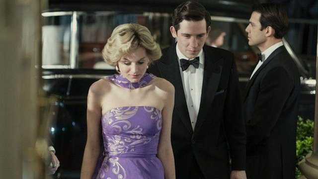 The depiction of Diana and Charles' early relationship has earned the show 24 nominations (Picture: Netflix)