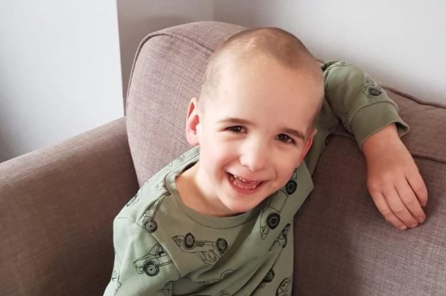 A fundraising campaign is currently underway to provide a little boy with a rare genetic condition a safe place in his home where he can play (Photo: Lucy Toole)