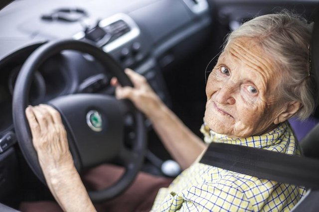 Over-70s could be banned from nighttime driving and confined to their local area under possible new DVLA plans (Photo: Shutterstock)
