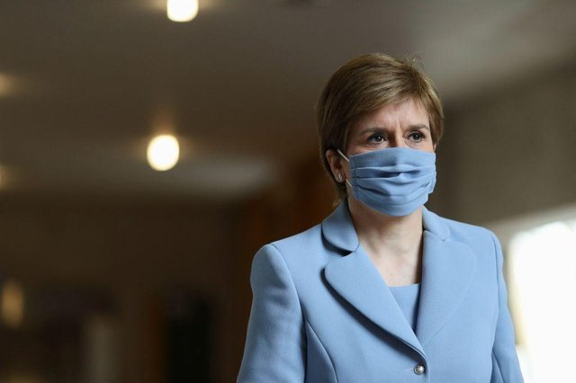 Nicola Sturgeon confirmed parts of Scotland will move to Level 1 from Saturday (1 June) (Photo: Getty Images)
