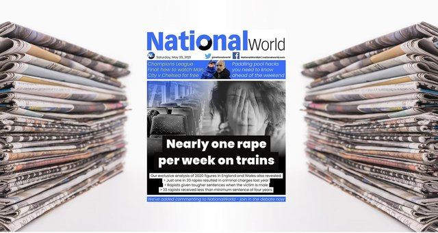 The digital front page of NationalWorld for May 28