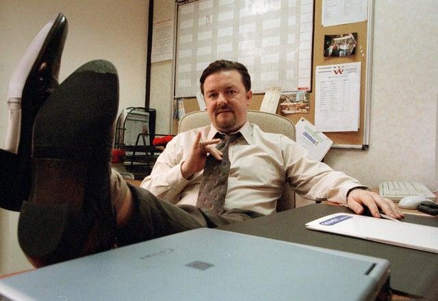 Ricky Gervais as David Brent (BBC)