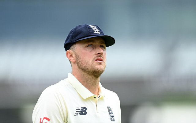 Robinson has been suspended from all international cricket pending the outcome of a disciplinary investigation (Getty Images)