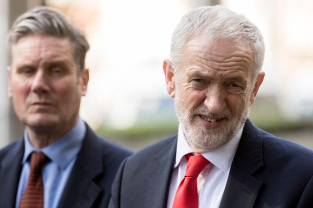 What did Jeremy Corbyn say about Keir Starmer? Why Corbyn called Labour leader 'Weak' on Peston show (Photo by Thierry Monasse/Getty Images)