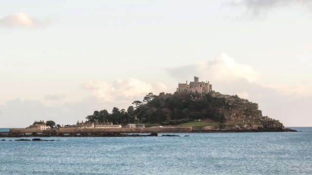 The team at St Michael's Mount in Cornwall wants to recruit for a role at the medieval castle (SWNS).