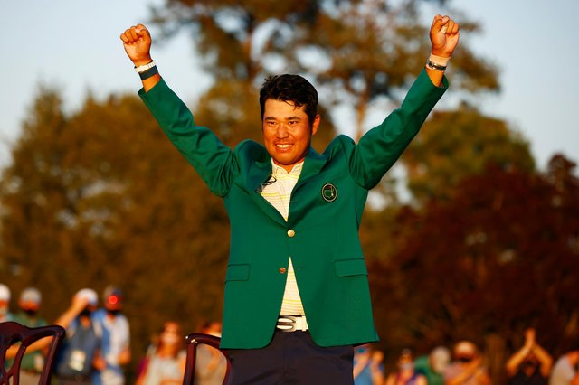 Hideki Matsuyama wrote a new chapter in golf's history books by becoming the first Japanese man to win the Masters. (Pic: Getty Images)