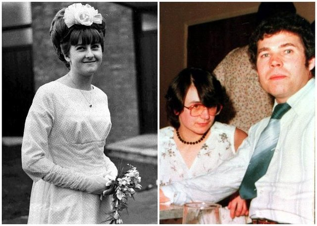 Mary Bastholm's disappearance had previously been linked to serial killer Fred West (right, pictured with wife Rose West).