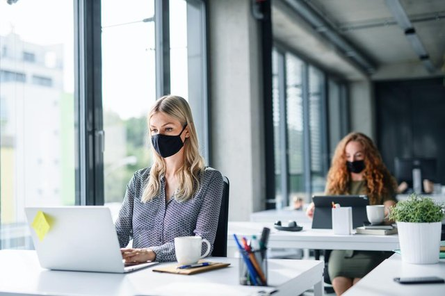 Two in five of the respondents have reduced their office space, and most will continue to hold meetings virtually where possible (Shutterstock)