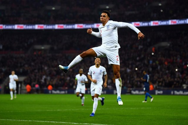 Trent Alexander-Arnold could miss out on a place in England's squad.