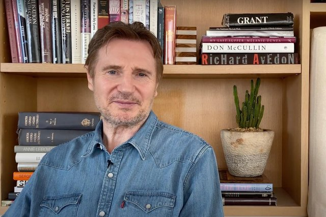 Liam Neeson lent his support to Seaview Primary after it became the first Catholic school in the country to become integrated