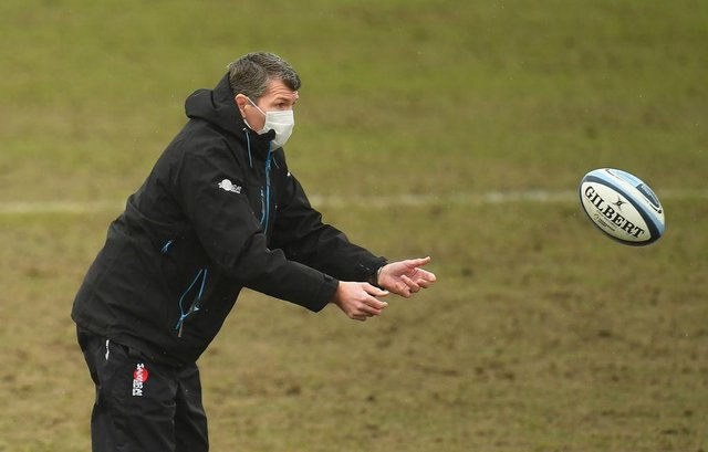 Rob Baxter, Director of Rugby of Exeter Chiefs, has been linked with the England job.