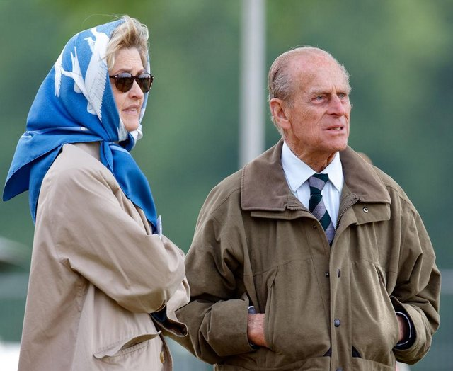 Prince Philip and Countess Mountbatten were close friends (Getty Images)