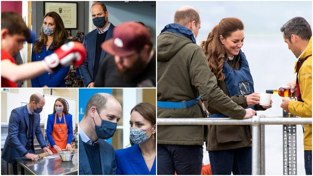 Prince William was joined by his wife the Duchess of Cambridge for a royal tour of Scotland (Getty Images)