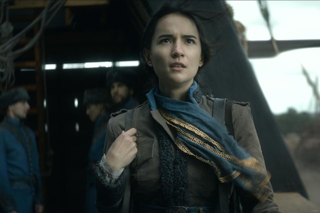 Jessie Mei Li as Alina Starkov in the new Netflix series Shadow and Bone. (Pic: PA)